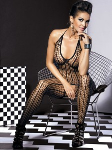 OB- Body Stocking G301 Schwarz S/M/L