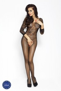 PE Bodystocking BS007 Schwarz S/ M
