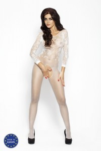 PE Bodystocking BS007 weiß S/ M