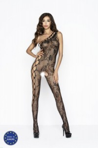 PE Bodystocking BS036 schwarz S/L