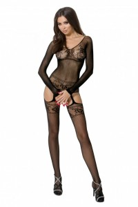 PE Bodystocking BS055 schwarz