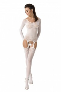 PE Bodystocking BS055 weiß
