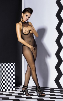 OB- Body Stocking N101 Schwarz S/ M/ L